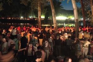 Unes 6000 persones reivindiquen la independència a l'acte 'Encén el Desig'