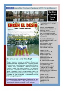 Neix el butlletí de l'ANC del Pla de l'Estany