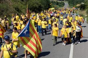 Més de 7.000 persones han participat als trams de Vilademuls de la Via Catalana