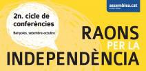 2n Cicle de conferències Raons per la Independència